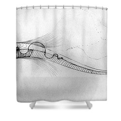 Megic Fish 2 Shower Curtain