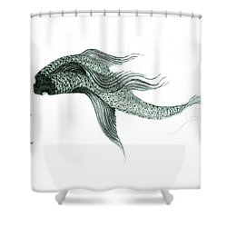 Megic Fish 1 Shower Curtain