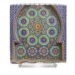 Shower Curtain featuring the photograph Meknes by Ramona Johnston