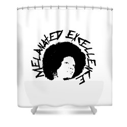 Melanated Excellence I Shower Curtain