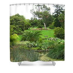 Melbourne Botanical Gardens Shower Curtain