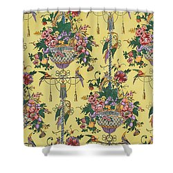 Melbury Hall Shower Curtain by Harry Wearne