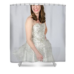 Melisa Hart In Ready To Ship Shower Curtain