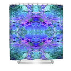 Mellifluous Mermaids Shower Curtain