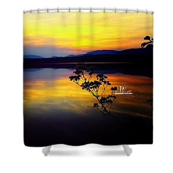 Mellow Moments In New England Shower Curtain