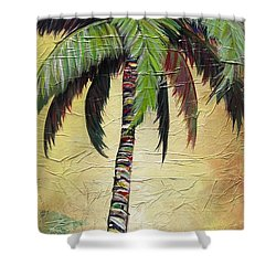 Mellow Palm I Shower Curtain