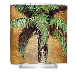 Mellow Palm II Shower Curtain