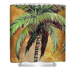 Mellow Palm IIi Shower Curtain