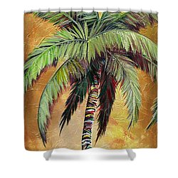 Mellow Palm IIi Shower Curtain