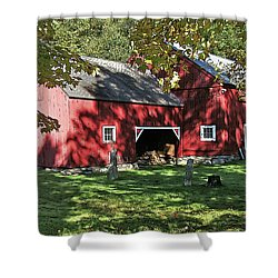 Shower Curtain featuring the photograph Mellow September by Betsy Zimmerli
