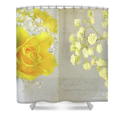 Shower Curtain featuring the photograph Mellow Yellow by Lyn Randle