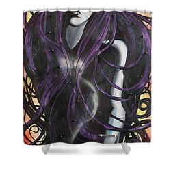 Melpomene Shower Curtain