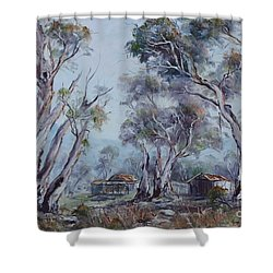Melrose, South Australia Shower Curtain