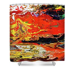 Melt Shower Curtain