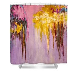 Melted Shower Curtain