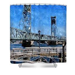 Memorial Bridge Mbwc Shower Curtain