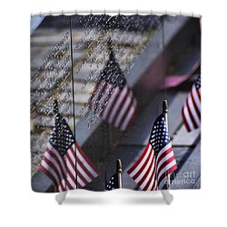Memorial Day 2015 Shower Curtain by John S
