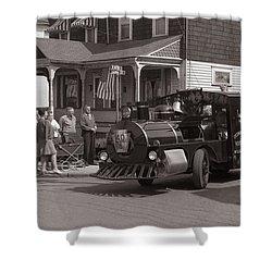 Memorial Day Parade  Ashley Pa  Corner Of W Hartford And Brown  Circa 1965 Shower Curtain