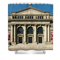 Memorial Hall Shower Curtain