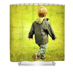 Shower Curtain featuring the photograph Memories... by Barbara Dudley