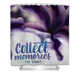 Memories Shower Curtain by Bobby Villapando