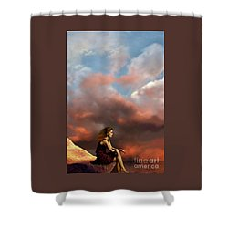 Memories Shower Curtain by Corey Ford