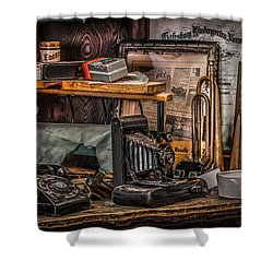 Memories For Sale Shower Curtain