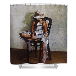 Memories Shower Curtain by Natalia Tejera