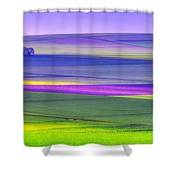 Memories Of Colors Shower Curtain