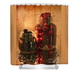Memories Of Jams, Preserves And Jellies  Shower Curtain