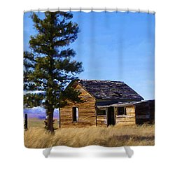 Memories Of Montana Shower Curtain