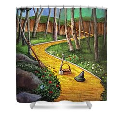 Memories Of Oz Shower Curtain