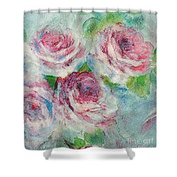 Memories Of Roses Shower Curtain