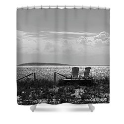 Shower Curtain featuring the photograph Memories Of The Cape by Michelle Wiarda