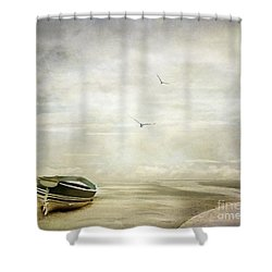 Memories Shower Curtain by Jacky Gerritsen