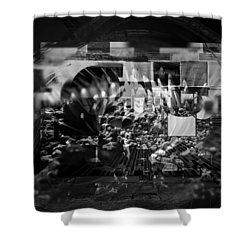 Memories Souvenirs Shower Curtain