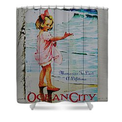 Memories To Last A Lifetime Shower Curtain