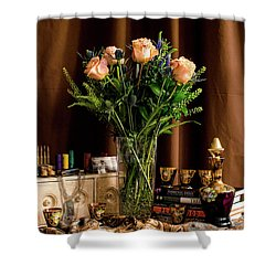 Memories Shower Curtain by Wendy Blomseth