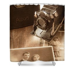 Captured Memories Shower Curtain
