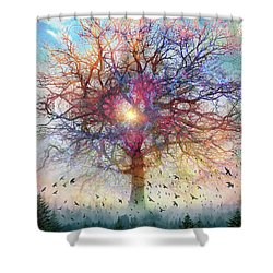 Memory Of A Tree Shower Curtain