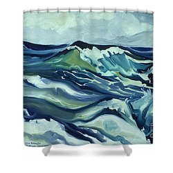 Memory Of The Ocean Shower Curtain