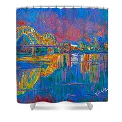 Memphis Lights Shower Curtain
