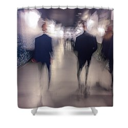Men In Suits Shower Curtain