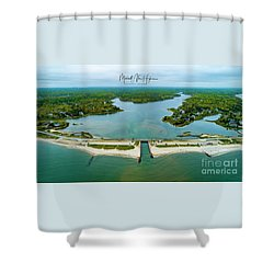 Menauhant Beach Shower Curtain
