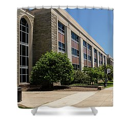 Mendel Hall Shower Curtain