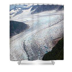 Mendenhal Glacier Shower Curtain