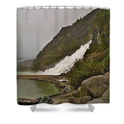Mendenhall Glacier Park Shower Curtain