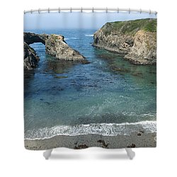 Mendicino County Viewpoint Shower Curtain by Sandra Bronstein
