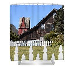 Mendocino Barn Shower Curtain