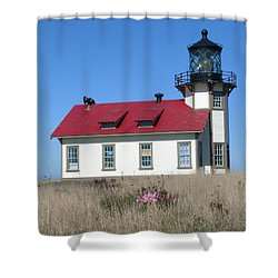 Mendocino Lighthouse Shower Curtain